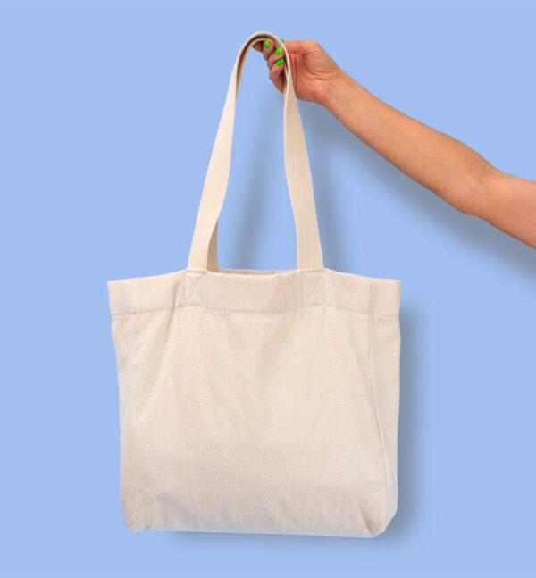 Эко сумка из канваса