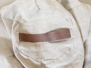 Кресло-мешок - натуральная ткань