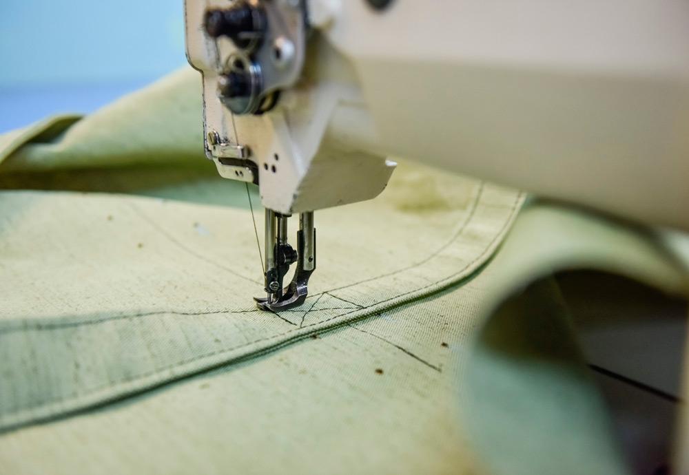 Производство - пошив из брезента