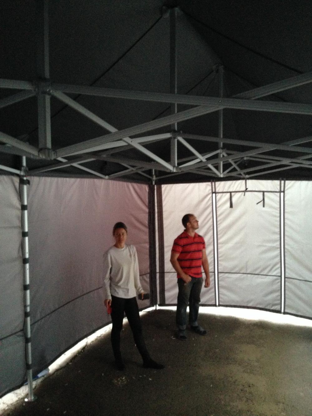 Тент-крыша и стенки для палатки