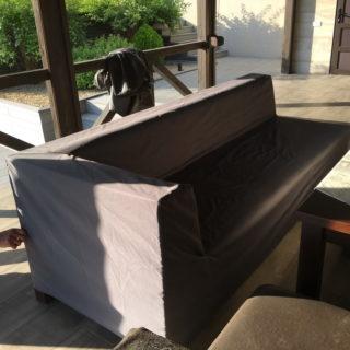 Чехол на диван для летней зоны отдыха - ткань Навигатор