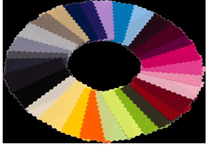Уличные ткани: цветовая палитра